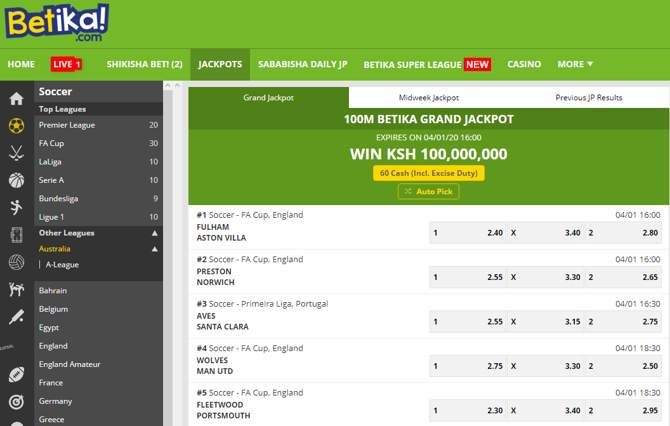 Make your prediction right now and win the jackpot